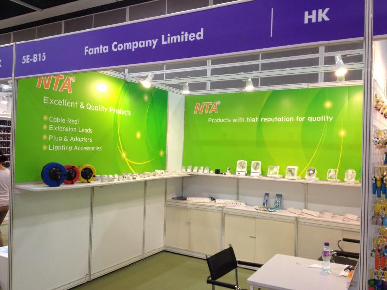 Hong Kong Gifts & Premium Fair 2013 - Our Booth